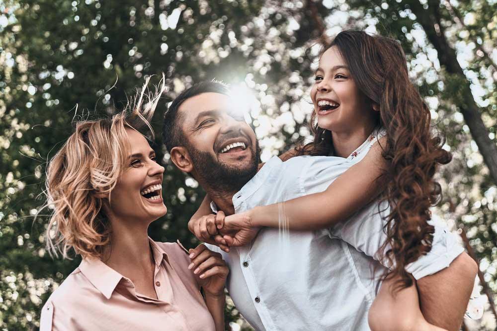 Happy family — CQ Chiropractic Centre in Gladstone, QLD